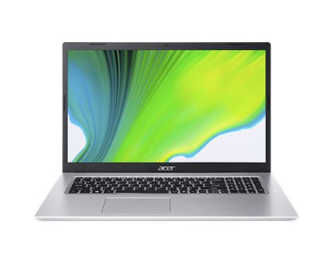 Acer Aspire 5 A517-52G-58AF, 17.3inch FHD, i5-1135G7, 16GB, 512GB SSD, Iris Xe Graphics, NoODD, Qwerty, Win10Home, Silver