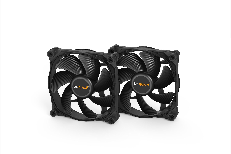 be quiet! SILENT LOOP 2 120mm, SilentWings 3 120mm PWM High Speed Fan, Socket Intel:1200/2066/115X/2011-3) AMD:AM4/AM3(+), ARGB Leds