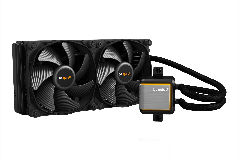 be quiet! SILENT LOOP 2 280mm, SilentWings 3, 2x 140mm PWM High Speed Fan, Socket Intel:1200/2066/115X/2011-3) AMD:AM4/AM3(+), ARGB Leds