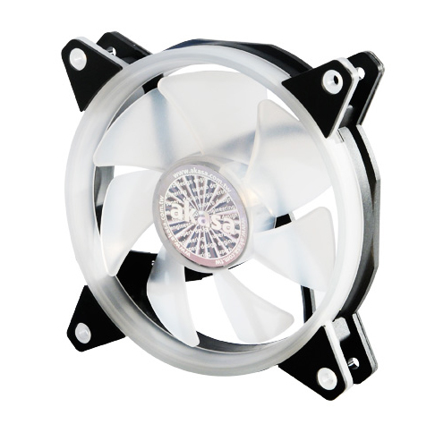 Akasa 12cm Addressable RGB LED Fan, Vegas AR7 (ASUS Aura, MSI Mystic Light Sync, Gigabyte Fusion Cert.)