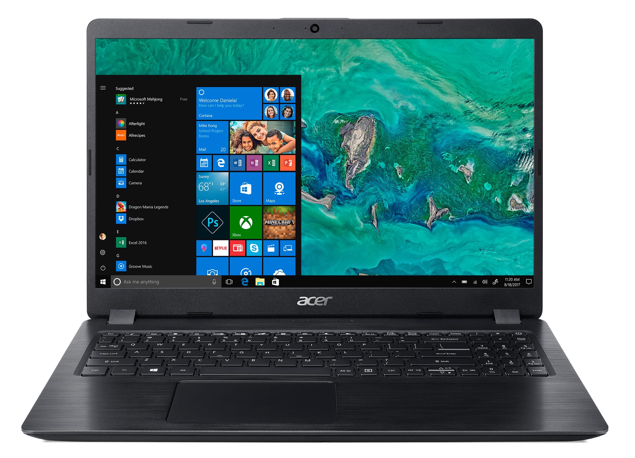 Acer Aspire 5 A515-52G-52S2 15.6 FHD-Intel core i5-8265U - 8GB - 265GB SSD + 1TB HDD - GeForce MX130 Win10home