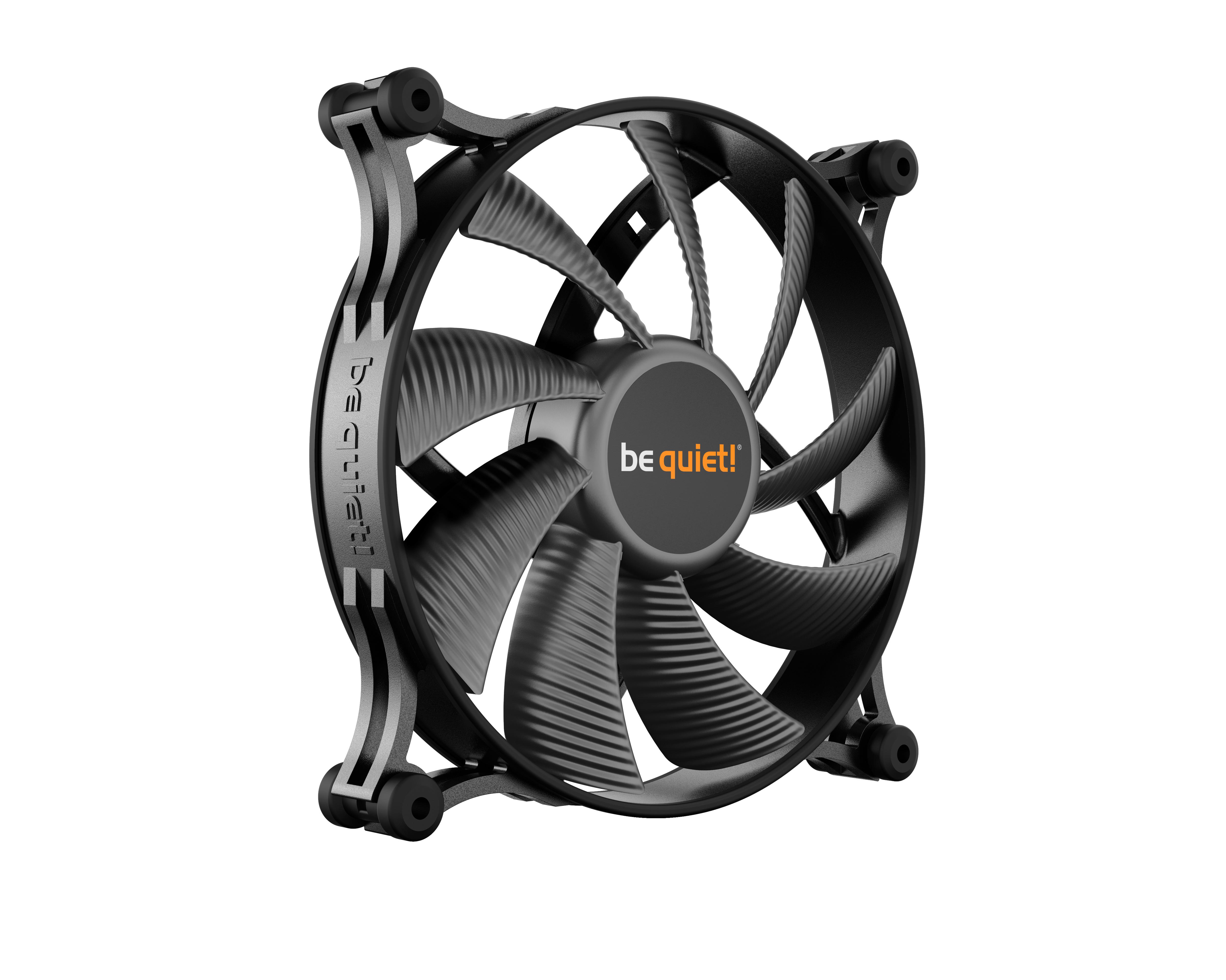 be quiet! Shadow Wings 2 140mm, 140x140x25, 900 rpm, 14,7 dB, 49,8 cfm, 3 pin