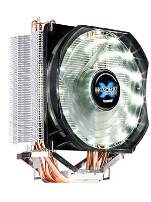 Zalman CNPS9X OPTIMA (Ultra Quiet CPU Cooler) / - 120mm PWM White LED Fan / - DTH Tech / - Long Life Rifle Bearing / - 600 ~ 1500RPM plm10%