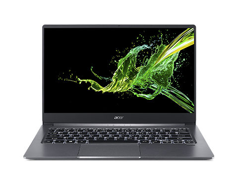 Acer Swift 3 SF314-57-309E, Steel Grey, 14inch FHD IPS, i3-1005G1, 4GB DDR4, 512GB PCIe NVMe SSD, Intel UHD Graphics, No ODD, Intel Wi-Fi 6 AX 201 (2x2) + BT 5, 48 Wh battery, HD webcam with 2 Microphones, Fingerprint Reader, W10H, backlit KB