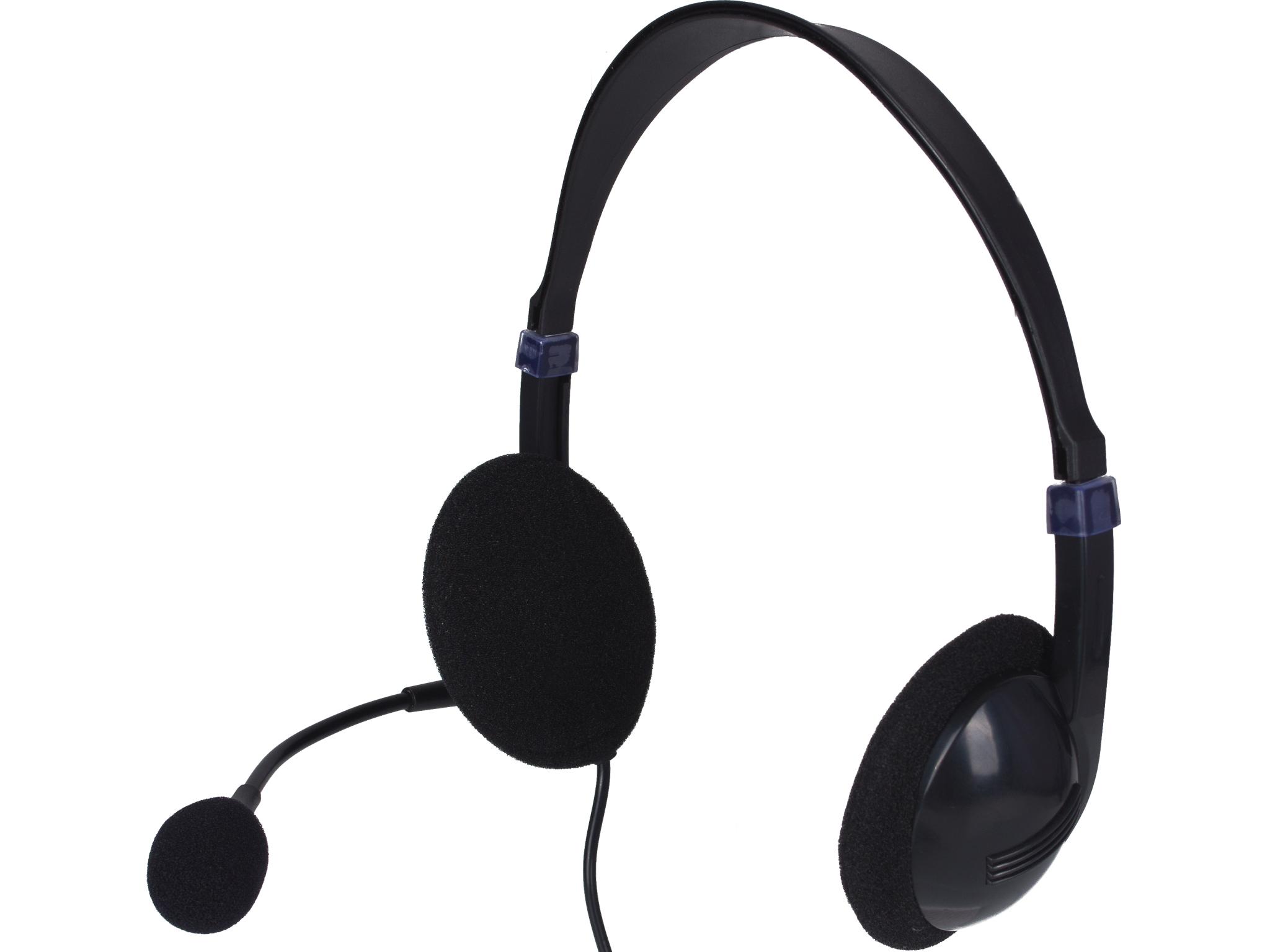 Sandberg Saver USB headset, met ingebouwde volume regeling