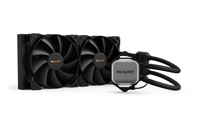 be quiet! Pure Loop 280mm Water Cooler, 2 x PureWings 2 140mm PWM High Speed Fan, Socket Intel:1200/2066/115X/2011-3) AMD:AM4/AM3(+)