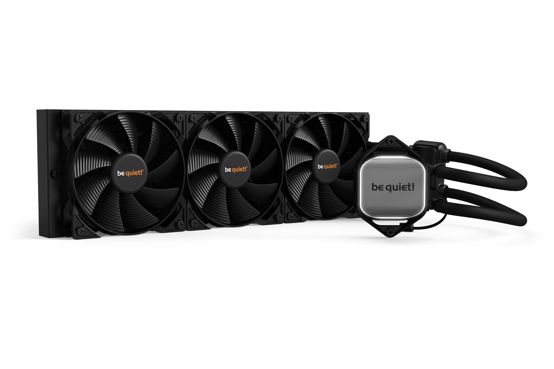 Be quiet! Pure Loop 360mm Water Cooler, 3 x PureWings 2 120mm PWM High Speed Fan, Socket Intel:1200/2066/115X/2011-3) AMD:AM4/AM3(+)