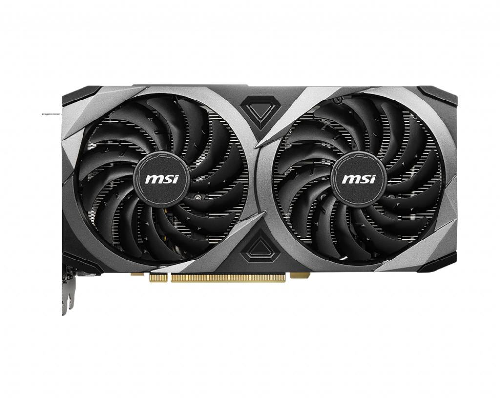 MSI GeForce RTX 3070 VENTUS 2X OC 8GB GDDR6 3xDisplayPort v1.4a 1xHDMI 2.1