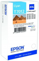 Epson wp4000/4500 inktcartridge cyaan extra high capacity 3.400 pagina s 1-pack blister zonder alarm
