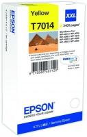 Epson wp4000/4500 inktcartridge geel extra high capacity 3.400 pagina s 1-pack blister zonder alarm