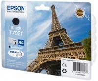 Epson wp4000/4500 inktcartridge zwart high capacity 2.400 pagina s 1-pack blister zonder alarm