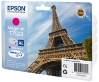 Epson wp4000/4500 inktcartridge magenta high capacity 2.000 pagina s 1-pack blister zonder alarm