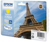 Epson wp4000/4500 inktcartridge geel high capacity 2.000 pagina s 1-pack blister zonder alarm