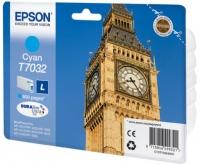 Epson wp4000/4500 inktcartridge cyaan standard capacity 800 pagina s 1-pack blister zonder alarm