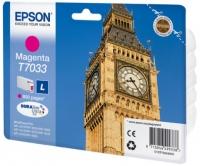 Epson wp4000/4500 inktcartridge magenta standard capacity 800 pagina s 1-pack blister zonder alarm