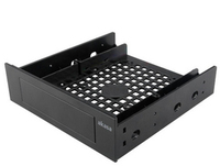 Akasa 5.25 front bay adapter for a 3.5 device/hdd/2.5 hdd/ssd