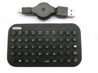 Gembird bluetooth mini toetsenbord, zwart, US layout