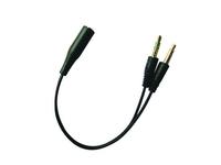 Sandberg Headset converter (Mobile) to PC, *3,5MMM, *3,5MMF