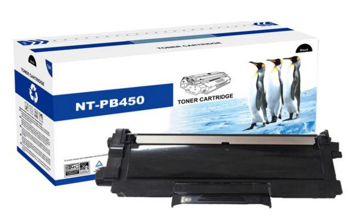 Compatible Brother Toner cartridge TN-2010/TN-2220 zwart (pb450) huismerk. ca 2600 vel a4. Bruikbaar voor Brother HL-2130/2132/2240/2240D/2250DN/2270DW/DCP-7055/7060/7065DN/MFC-7360/7460DN/7860D
