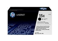Hewlett packard 15x laserjet tonercartridge zwart high capacity 3.500 pagina s 1-pack