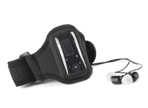 NGS waterproof mp3 player - earphones and armband included