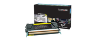 Lexmark x748 10k tonercartridge geel with returnprogram
