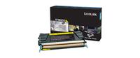 Lexmark x748 10k tonercartridge geel