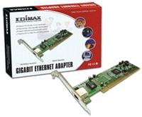 Edimax Network Adapter PCI 64bit Gigabit, Wired LAN Adapter, PCI (64-bit), 10/100/1000Mbps