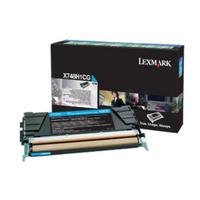 Lexmark x748 tonercartridge cyaan corporate