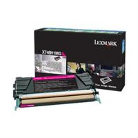 Lexmark x748 tonercartridge magenta corporate