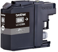 Brother lc-123 inktcartridge zwart standard capacity 600 pages
