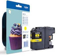 Brother lc-123 inktcartridge geel standard capacity 600 pages