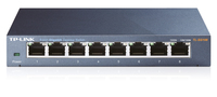 TP-Link TL-SG108D Switch 8x10/100/1000Mbps 8 ports GigaBit Switch desktop metal