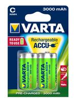 VARTA READY 2 USE LR14 3000mAh BLI*2, multipack