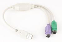 USB naar PS/2 adapterkabel 0.3 meter