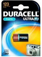 Batterij Duracell Lithium CR123 (CR17345) 1St.