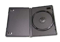 Gembird dvd-1b black DVD box for 1 DVD