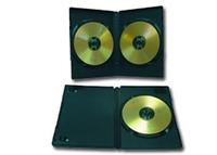 Gembird dvd-2b black DVD box for 2 pcs