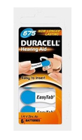 DURACELL BATTERY 675 EASYTAB 6*PAK, multipack
