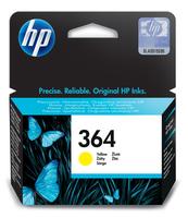 HP 364 inktcartridge geel standard capacity 3ml 300 pagina s 1-pack met vivera inkt