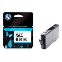 HP 364 inktcartridge foto zwart standard capacity 3ml 1-pack met vivera inkt