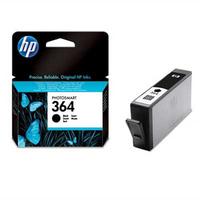 HP 364 inktcartridge zwart standard capacity 6ml 250 pagina s 1-pack met vivera inkt
