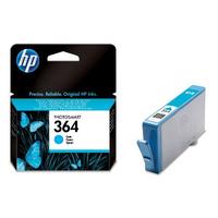 HP 364 inktcartridge cyaan standard capacity 3ml 300 pagina s 1-pack met vivera inkt