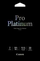 Canon pt-101 pro platinum photo paper inktjet 300g/m2 4x6 inch 20 sheets pack