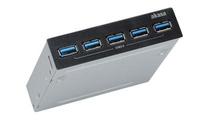 Akasa InterConnect Pro 5S, 5 USB 3.0 port, 3,5 inch interne hub