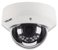 Intellinet Outdoor Night Vision Megapixel Network Dome Camera720p hd, wdr, day/night, ip66, h.264, mpeg4, m-jpeg, 3gpp, poe, microsd/sdhc