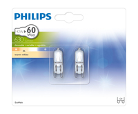 Philips Halogeen stiftfittinglamp EcoHalo MV Caps 42W G9 CL 2BC/10