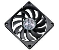 Akasa 80 x 10.8mm Slim PWM Black fan