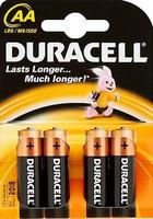 Duracell Alkaline batterij LR6 / AA - Blister van 4