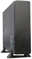 Epsilon micro-ATX mini-tower/desktop, 290(H) x 88(W) x 355(D)mm, 1x 5,25 inch, 1x 3,5 inch, zwart